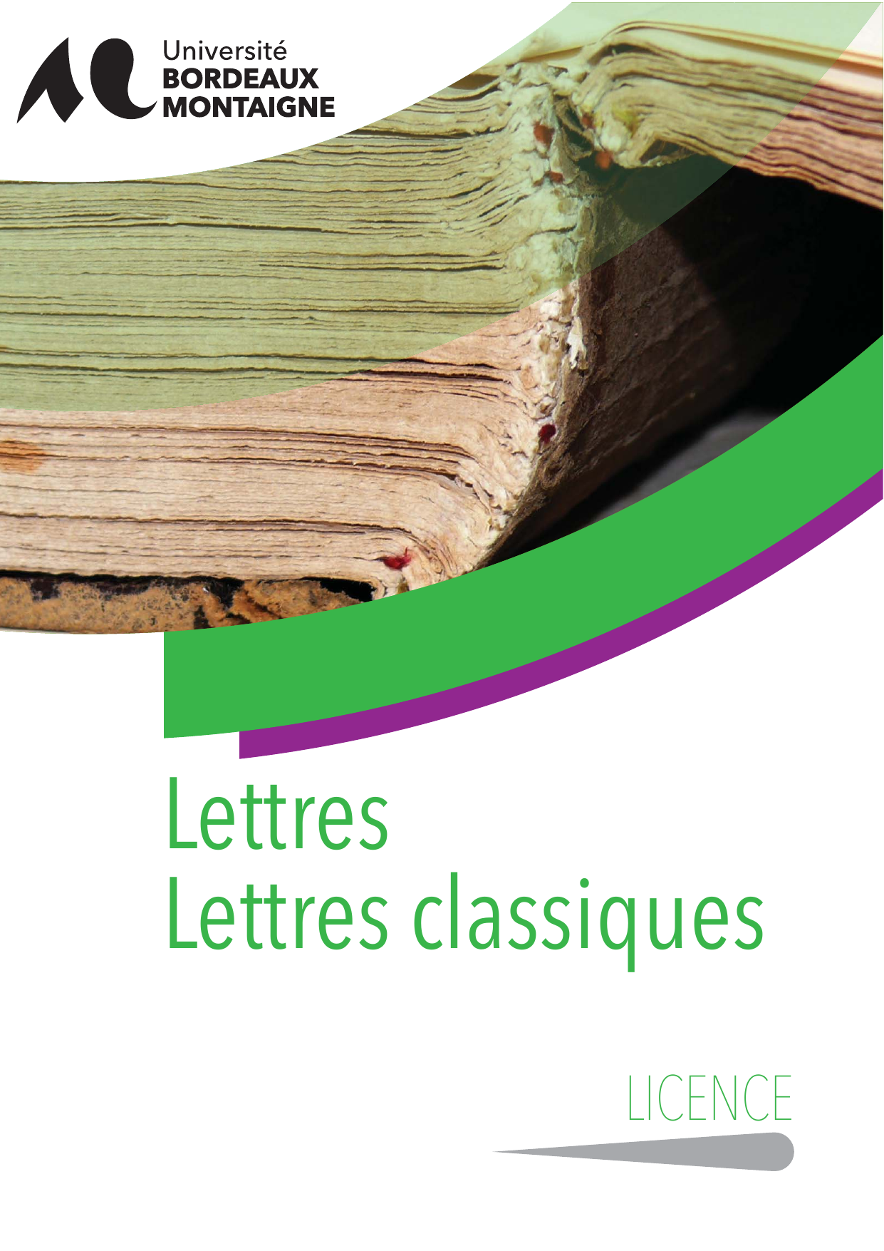 Licence Lettres classiques - Université Bordeaux Montaigne 4e4f61d02c3e