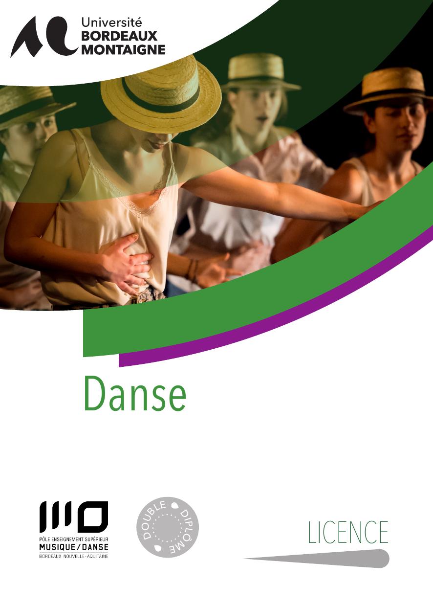 licence danse