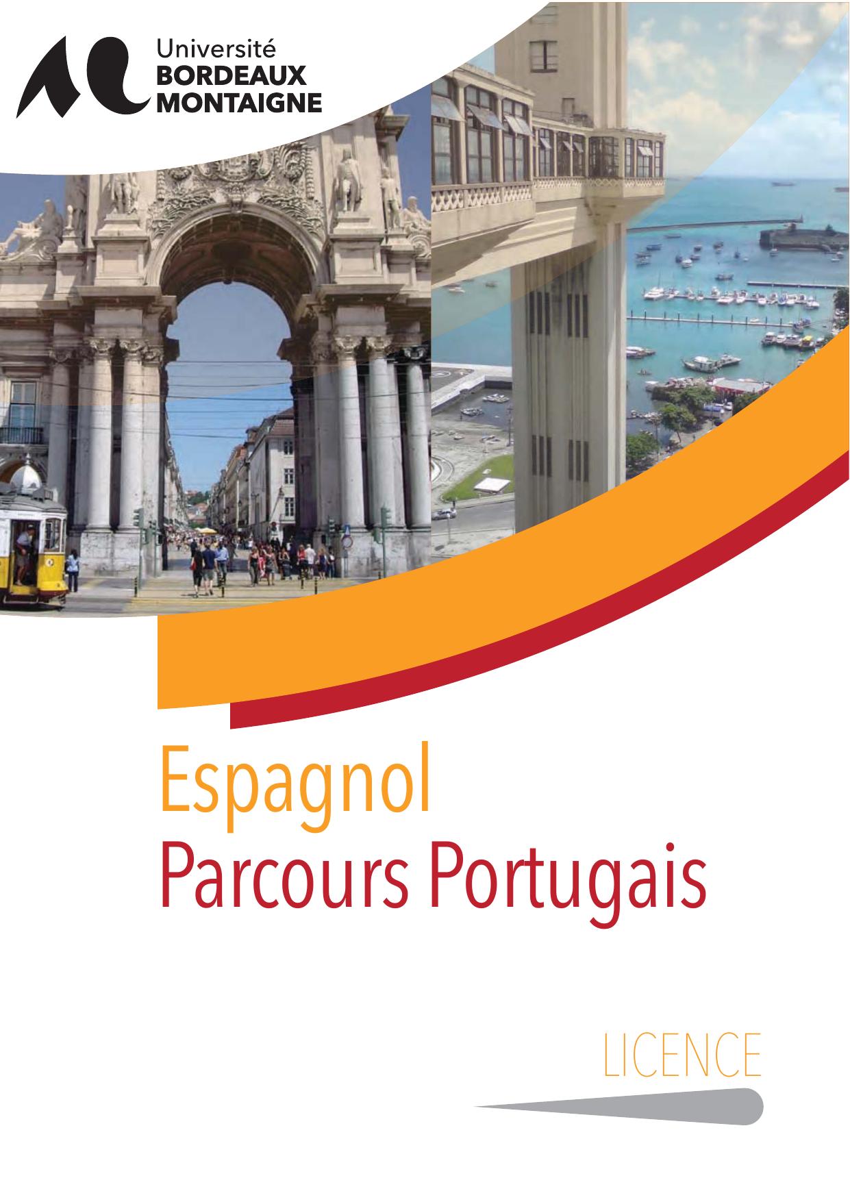 licence portugais-espagnol