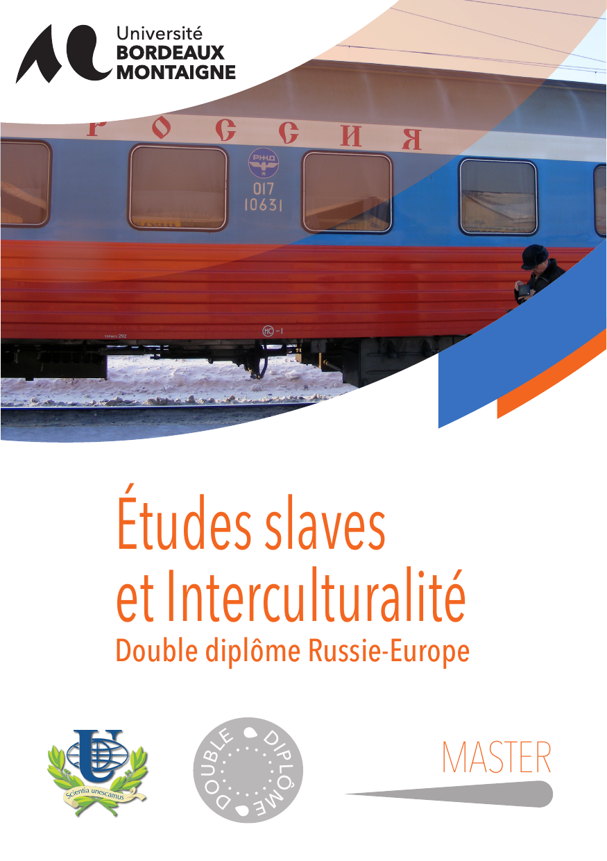 master etudes slaves et interculturalit u00e9