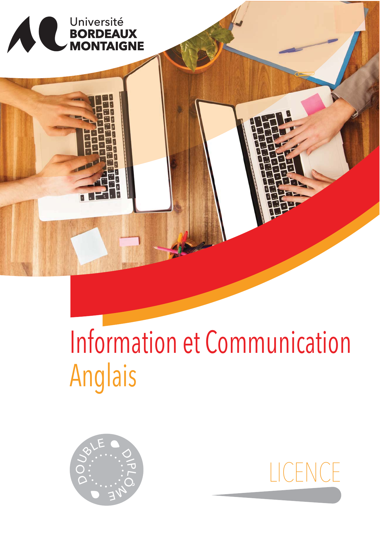 licence 2 information communication - anglais